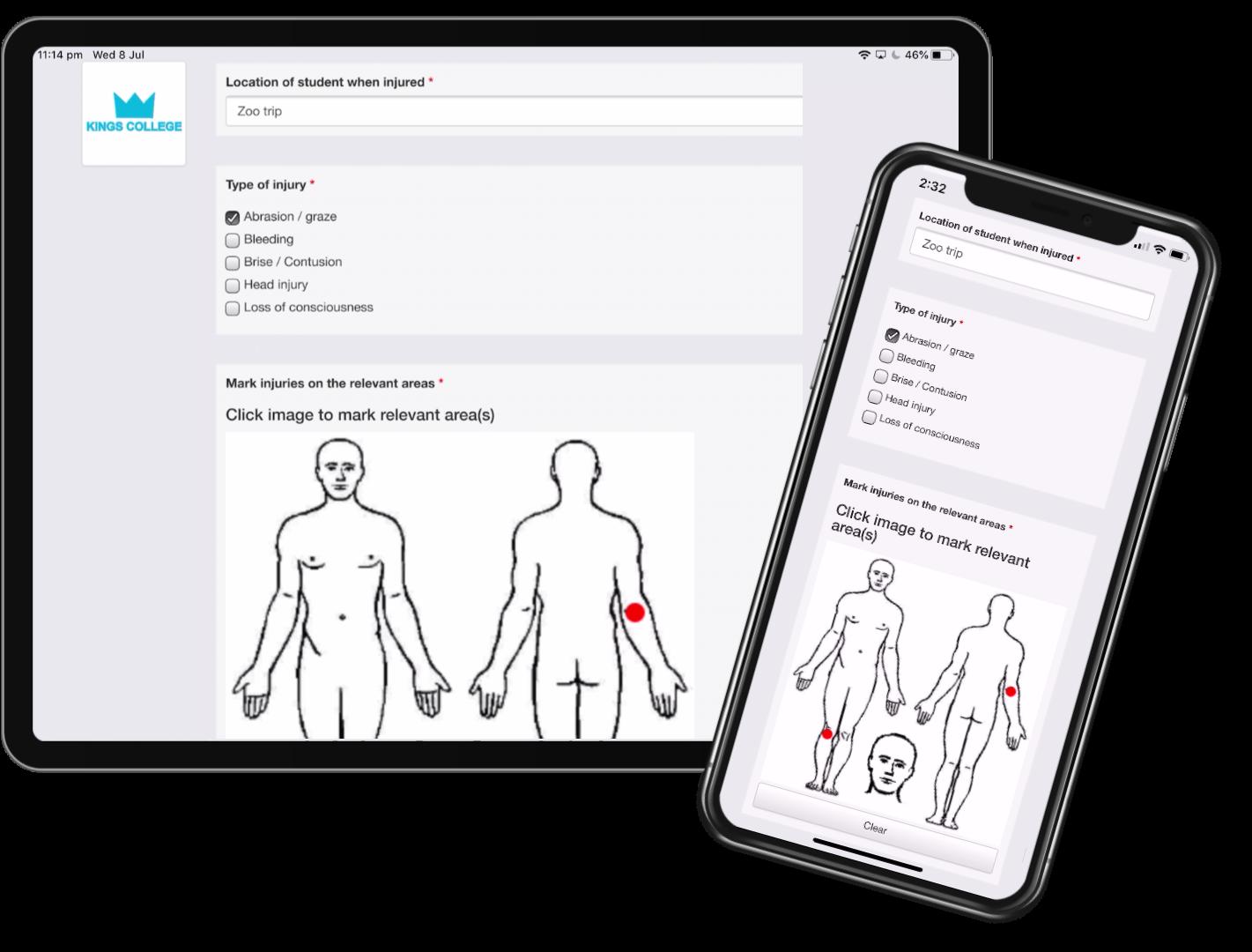 injury-report-ipad-iphone