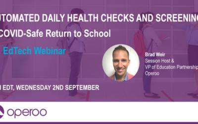 Webinar Recording: Daily Health Checks for US Schools