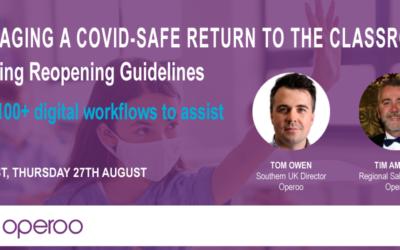 A COVID-Safe Return to the Classroom: UK Webinar Recording