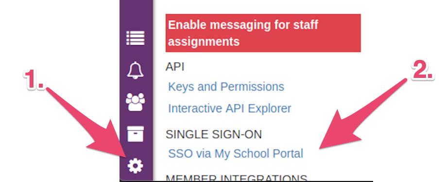My School Portal SSO Integration (Group Edition)